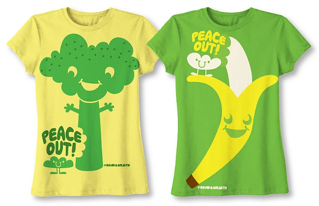 David and Goliath Junior's T-Shirts