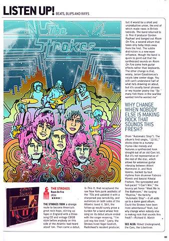 Illustration of The Strokes