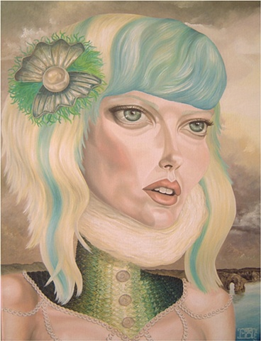 Grace laura barnhard bash contemporary gallery oil painting pop surrealism lowbrow