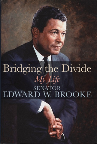Senator Edward W. Brooke autobiography book jacket cover