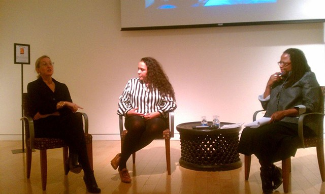 Elizabeth Axtman, Meg Shiffler and Carol Marie Daniels in conversation @Museum of African Diaspora