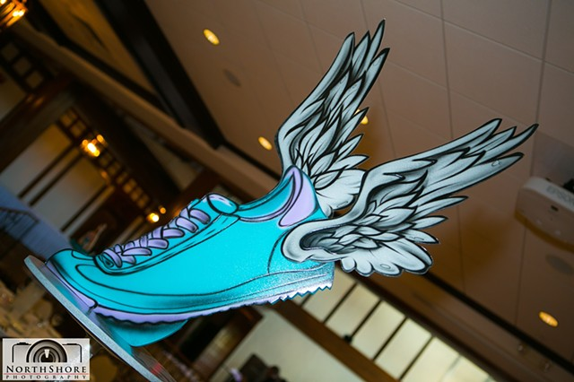 Running Shoe Centerpiece