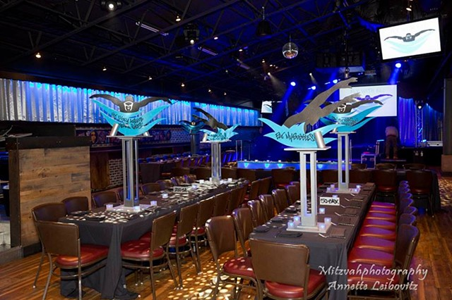 """Fly With Eli"" Centerpieces"
