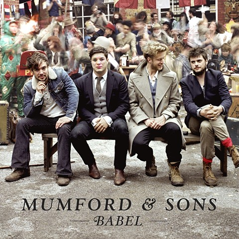 Face photoshopped on Mumford and Sons