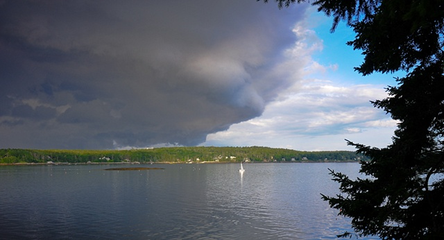 Storm Clouds Maine
