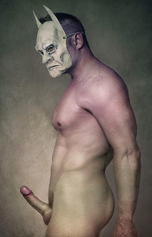 Image of gay batman by photographer Christopher Andres