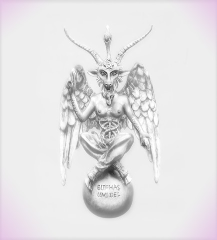 photograph of Baphomet by christopher andres