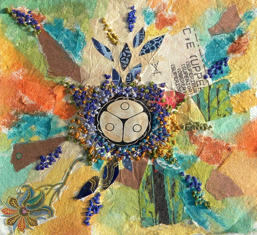 Embroidered Kaleidoscope 1