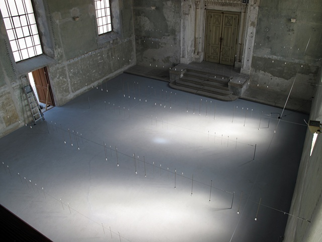 view from above (in women's gallery)