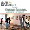 Interview at SubSpace art gallery in Culver City for the show Ground Control