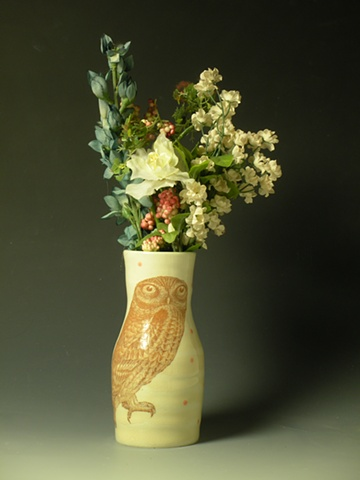 Owl Vase