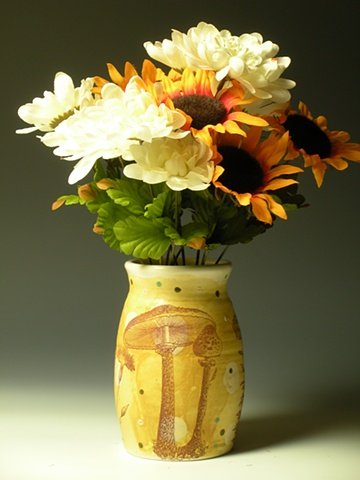 Mushroom Vase