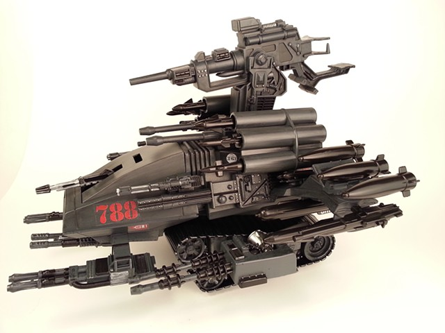 G.I. Joe - Cobra H.I.S.S. Tank - Custom