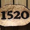 Address Plaque