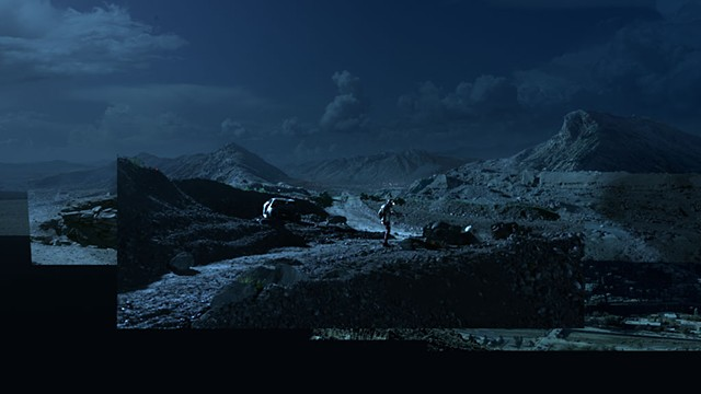 Afghanistan Concept / Matte painting (deleted sequence)