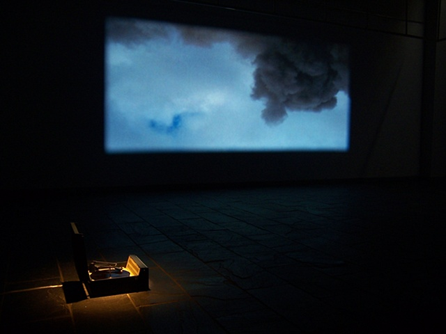 The Gorbals  - It was as if /I was under /a low sky /breathing through /the eye of a needle  (Installation Detail, Chengdu, China 2008)