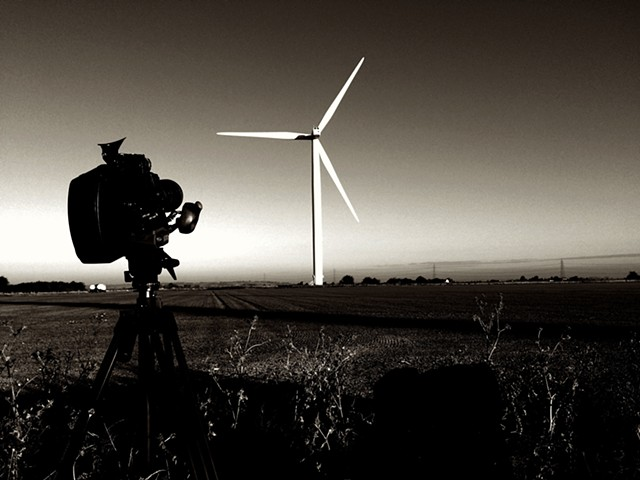 Vientos Fuertes (Strong Winds) - Location Shot, Little Cheyne Wind Farm, 2016