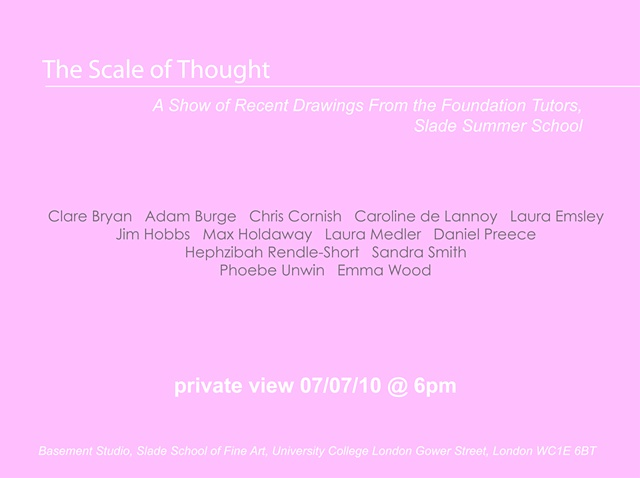 scale of thought invite