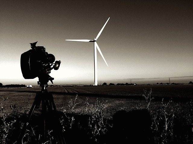 Vientos Fuertes (Strong Winds) - Location filming, Little Cheyne Wind Farm, 2016