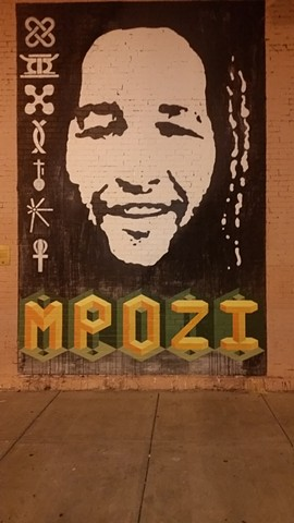 Fountain Square Mpozi Mural