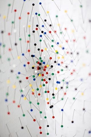 Artist:  Elena Patino Title: Radial Population II