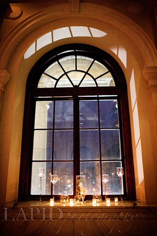 Michelle Lapid Photography Bay Window Candlescape