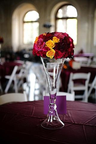Reversible Vase Reception Centerpiece