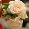 Double Rose Wrist Corsage