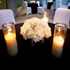 Modern Design - Low Carnation Centerpiece