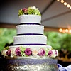 Hydrangea and Rose Cake Decor