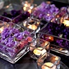Modern Glass Tray Centerpieces