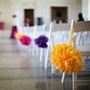 Colorful Tissue Paper Poms