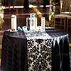 Black and White Damask Sand Ceremony