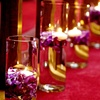 Floating Candle Aisle Decor