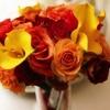 """Fall """"Fortune"""" Toss Bouquet"""
