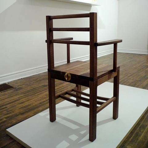 Over Capacity Chair