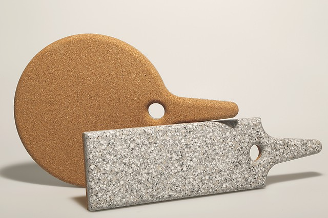Marbley Cork Trivet / Corian Food Service