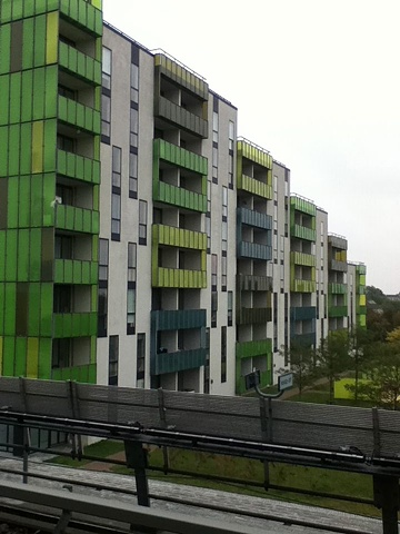 Residential Apartment Outside City