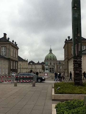 Amalienborg - Queen's residence