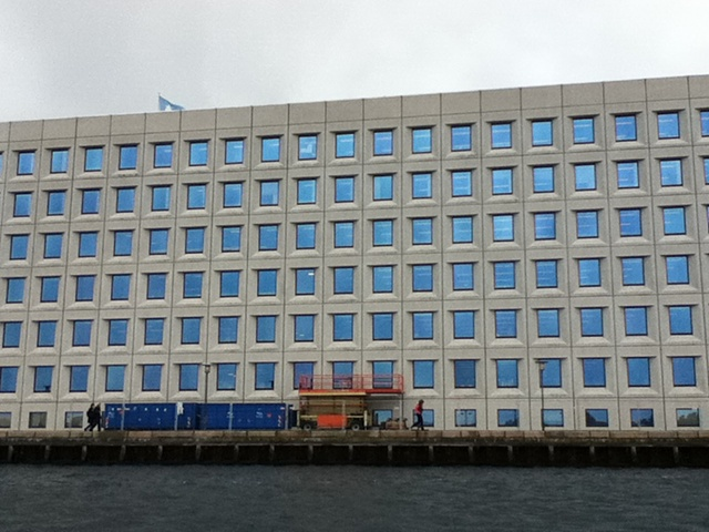 Maersk shipping co - based in Copenhagen aka One Thousand Blue Eyes