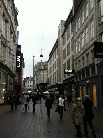 """Stroget """"The Stroll"""" -Copenhagen's largest shopping area is centered around Strøget in the heart of the city."""