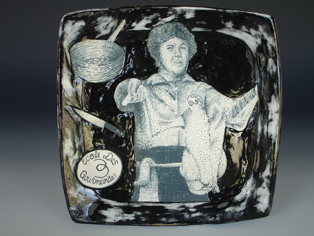 Julia Child, ceramics