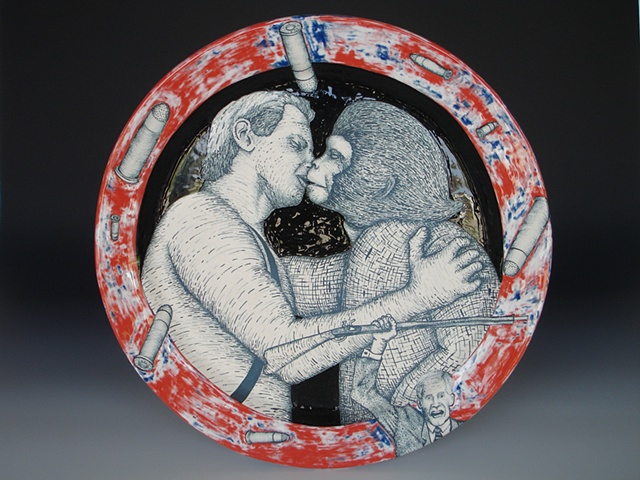 Charlton Heston, ceramics