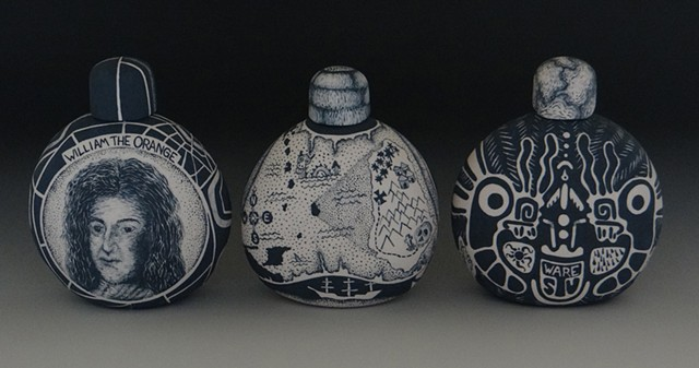 ceramics, clay, porcelain, painting, illustration, history, alcohol, rum, tequila, gin