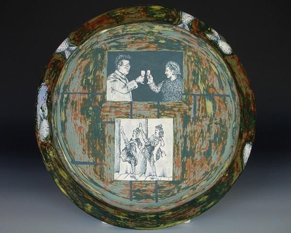 Kim Jong Ill, ceramics