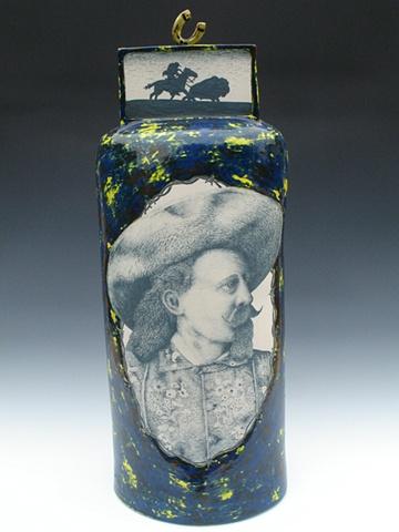 Buffalo Bill, Ceramics