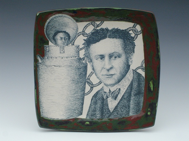 Harry Houdini, ceramics