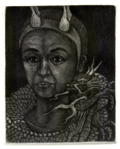 Self-Portrait as a Dragon Lady