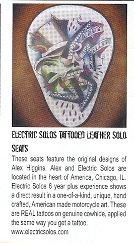 Cycle source mag features Electric solos