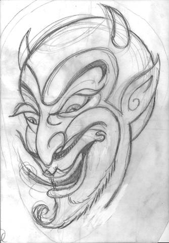Origional artwork for Diablo